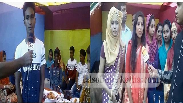 নওগাঁর মান্দায় গোটগাড়ী শহীদ মামুন সরকারী হাইস্কুল ও কলেজে পিঠা উৎসব পালিত